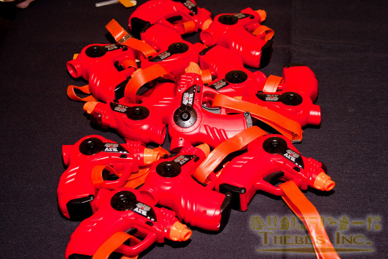 Lazer Tag weapons