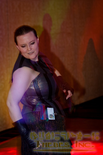 "Dancing at the ""Hoesdown"" dance"