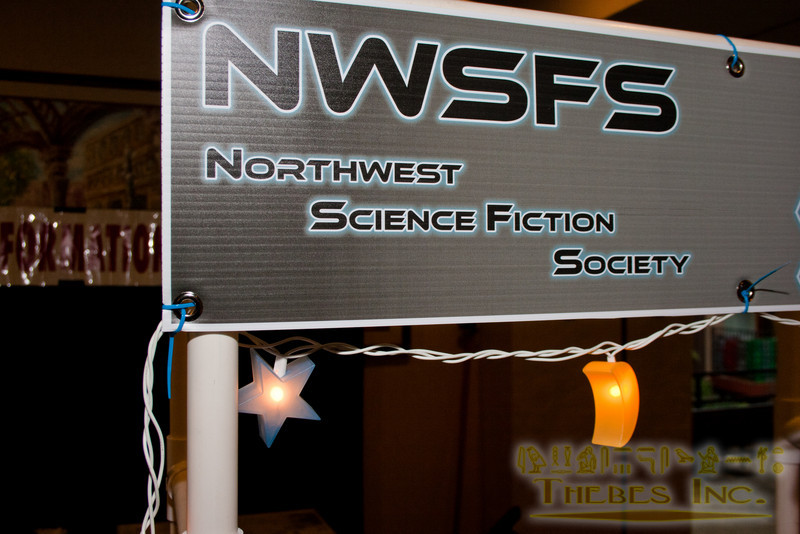 Northwest Science Fiction Society booth