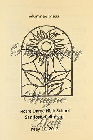 2012 Alumnae Mass and Brunch
