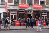 The Walmer Castle Pub on day of the Notting Hill Carnival August 2008