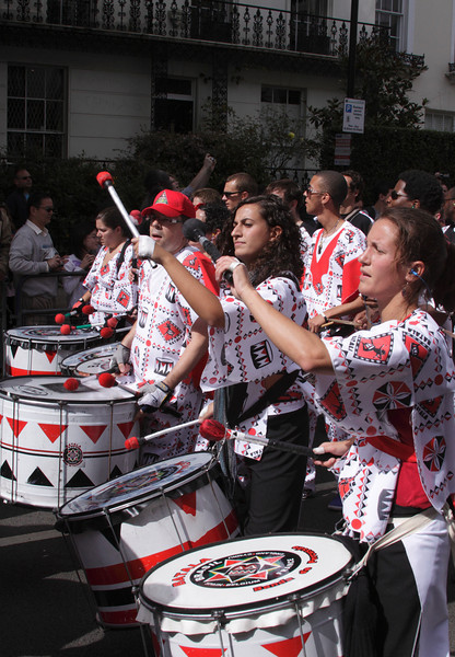 Drummers at Notting Hill Carnival 2010