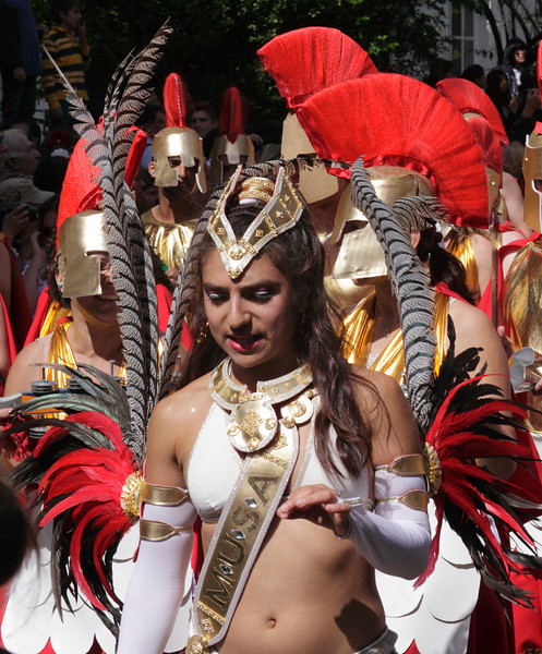 Roman Soldiers at Notting Hill Carnival 2010
