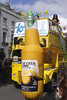 Double decker bus at Notting Hill Carnival 2010