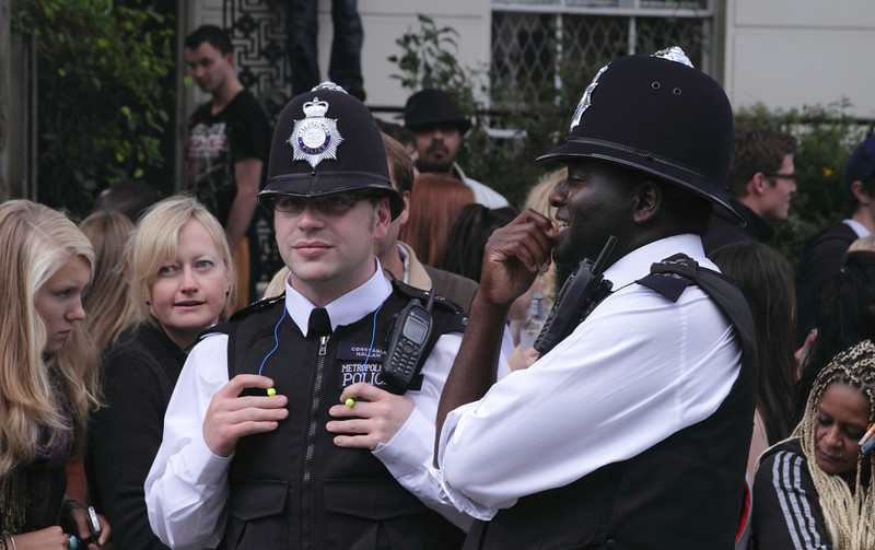 Police at Notting Hill Carnival 2010