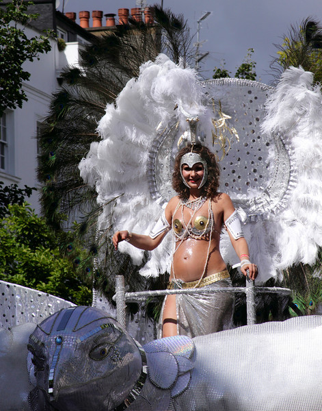 Mobile float at Notting Hill Carnival 2010