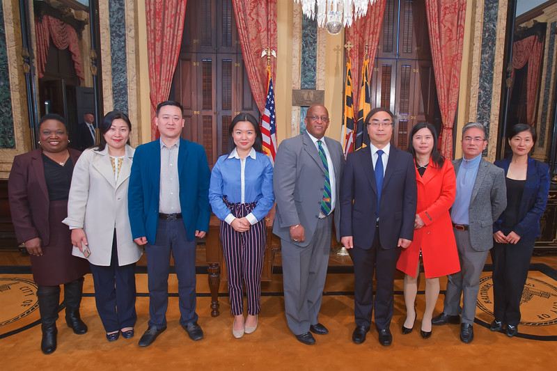 November 07, 2019 - Chinese Delegation Visit to City Hall