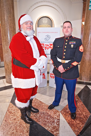 November 13, 2019 - Toys For Tots Kick Of Press Conference