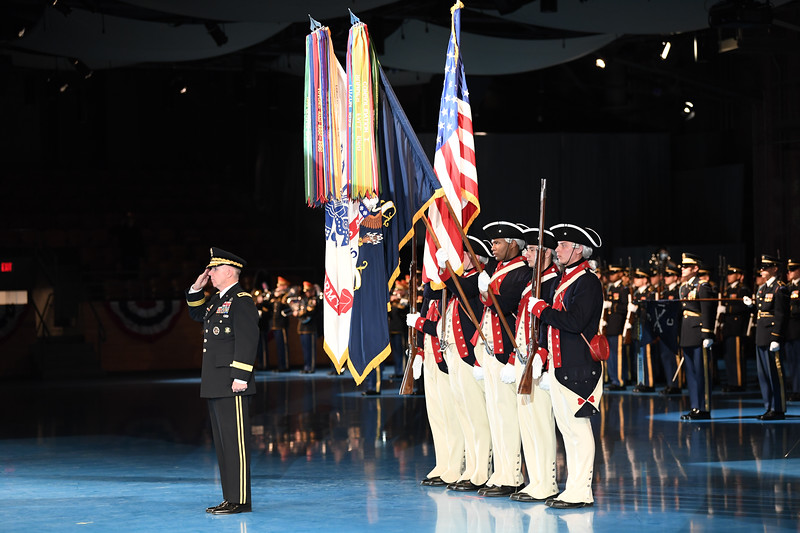 Retirement Ceremony IHO Maj. Gen. John W. Baker