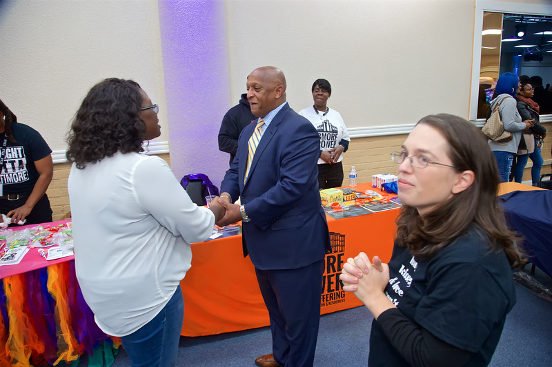 November 13, 2019 - Swearing in for School Board Commissioner Shantell Roberts  December 02, 2019 - Ravens Foundation & City Schools Announcement  November 23, 2019 - 10th Annual Know Your Status Ball & Conference