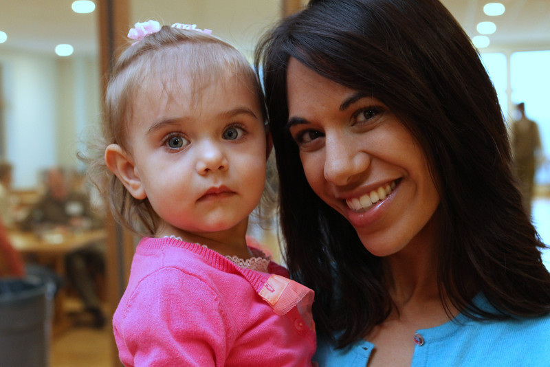 Sajel & her mother Madia enjoyed the arts and company at HWM.