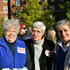 From left, Sister of Charity Louise Akers, Precious Blood Sister Mary Wendeln and Mercy Sister Fran Repka at the Nuns on the Bus Ohio rally.