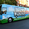 The Nuns on the Bus Ohio tour visited the University of Dayton Oct. 11 for a rally.