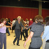 As the groups got larger, dancing and weaving between groups ensued.