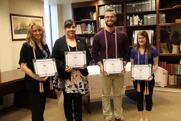 2015 Nursing Honor Society Induction