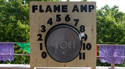 The Flame Amp that can go beyond 10 to 11!
