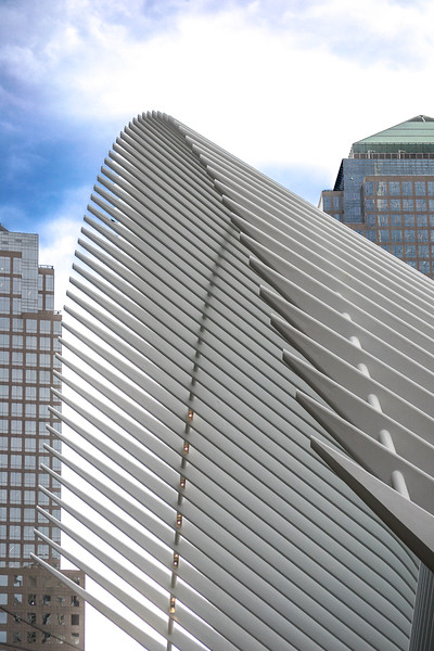 The Oculus Structure next to Liberty Tower