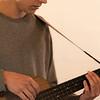 Endre Hoff on ukulele-bass