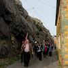 ...narrow street of Nyksund