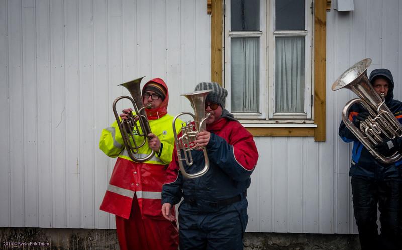 The 3 man band: Anders Frantzen, Tore Vang and Rune Mikkelborg