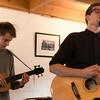 Inge bremnes with Endre HOff on ukulele-bass