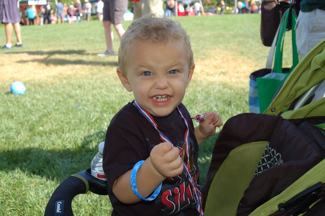 This little guy showed us his great big NEGU attitude and smile!  So sweet!
