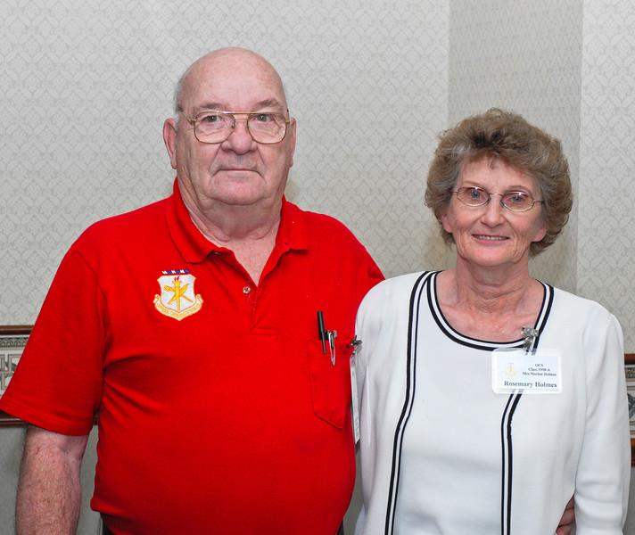 Marlan and Rosemary Holmes