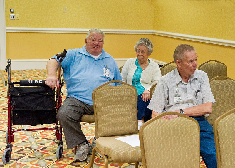 Business Meeting:  Bert & Edna Scanlan; Fred Boswell