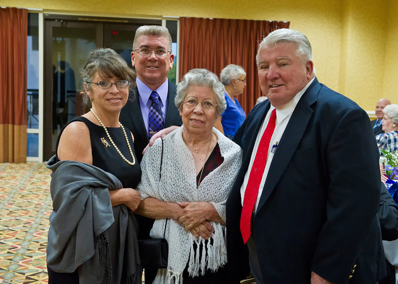 Jackie Garcia Green; CMSGT Gary Garcia; Edna & Bert Scanlan