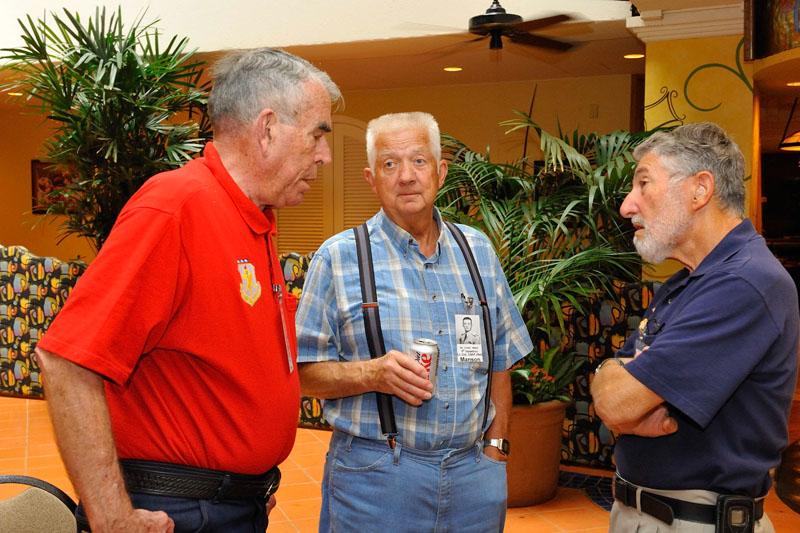 Don Harrelson, Manson Polley, and Mort Friedlander