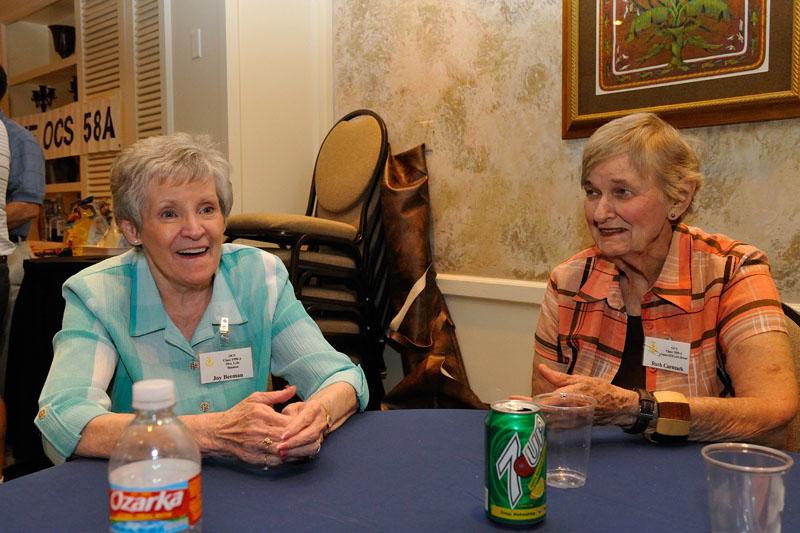 Joy Beeman and Ruth Carmack