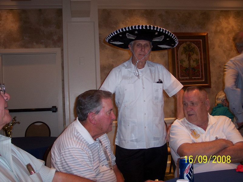 Cres Baca, Jack Little, The Hat, and Fred Shannon