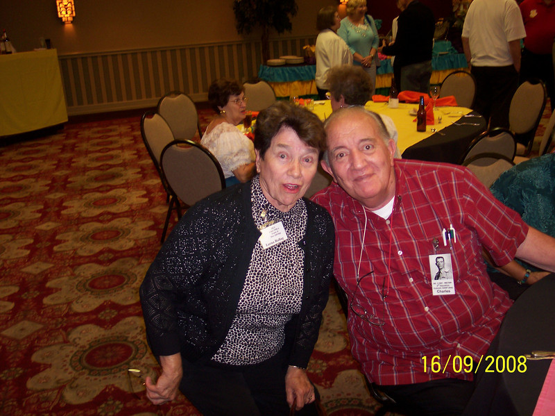 Lorna Rollag and Chuck Helton