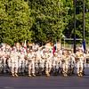 USMC Marcing Band Parade Deck OCS