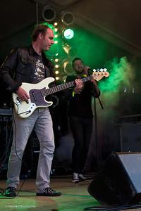 KEVIN en ANDRE  XL op OERROCK 2014