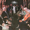 The bus to the party, Sat. evening, with a cargo of COURAGEOUS crew & friends