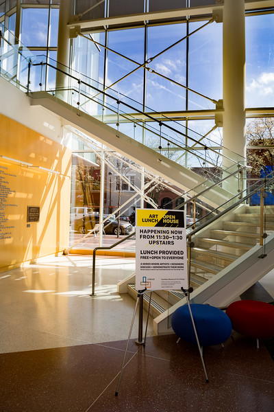 March 29, 2017 Columbus Museum of Art & Design Art Luch Open House for OMNI.