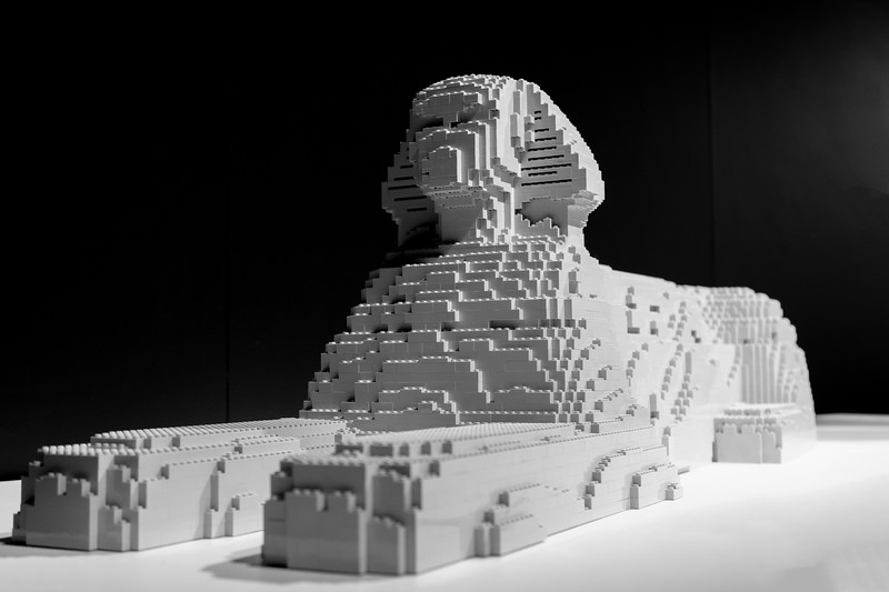 The Art of the Brick Exhibit at OMSI, Oregon