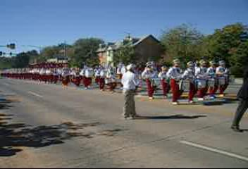 """<font size=""""3"""">Video of the OU Marching Band.  This is compressed to conserve bandwidth.  However, it's still a huge file.  If you're not using a cable modem or have a slow connection, you will probably want to skip this one.</font>"""