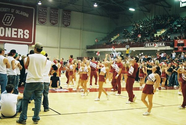 "<font size=""3"">Pep Rally the night before Homecoming 2003</font>"