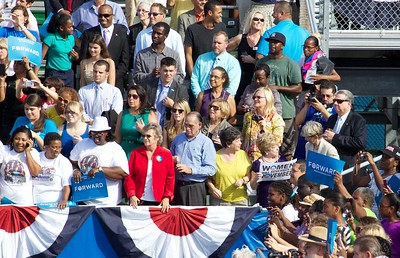 Obama rally
