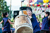 Kristin Yoshimura performs with the Ogden Buddhist Taiko Group at the annual Obon festival in Ogden. The group has performed in Idaho, Colorado, and Arizona and throughout Utah. Photo taken on July 19, 2014. (ROBBY LLOYD/Standard-Examiner)