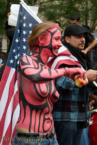 Occupy Wall Street Protest, New York City 2011.