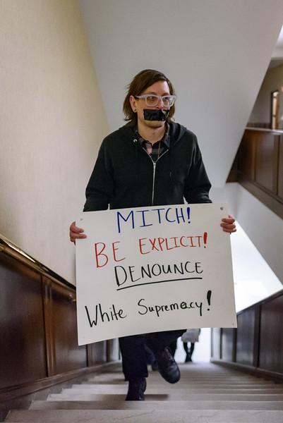 2/17/17 Occupy Purdue Protest