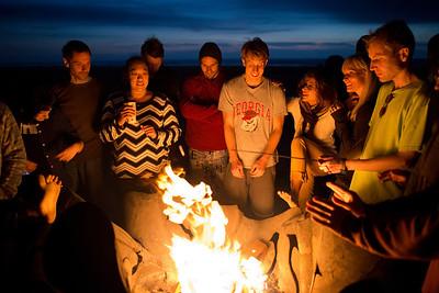 Ocean Beach Bonfire 11.13