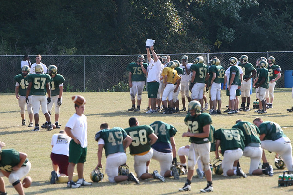 Oct 11, '06: Grayson HS Football Practice Wed.