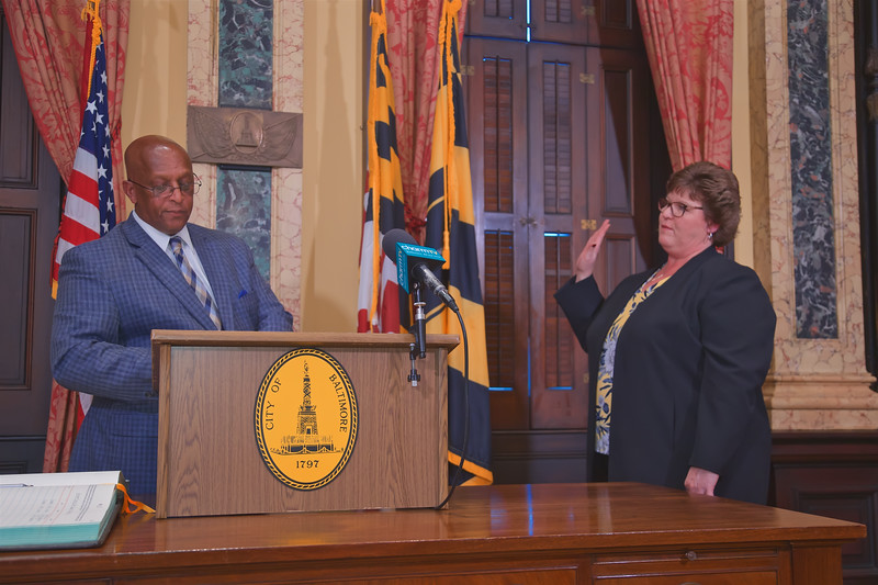 October 01, 2019 - Swearing In for New Members of the Board of Trustees for the Retirement Savings Plans - Congetta A. Bosse & Charles Hall