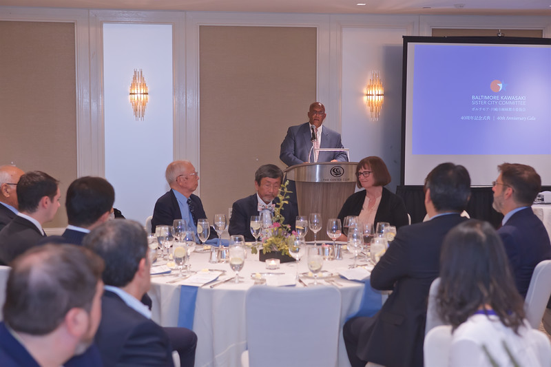 October 15, 2019 - Dinner Celebration for the Kawasaki Delegation