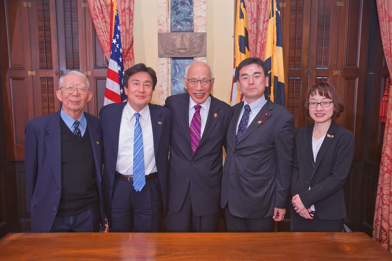 October 16, 2019 - Meeting & Signing Ceremony with Kawasaki Sister City Delegation
