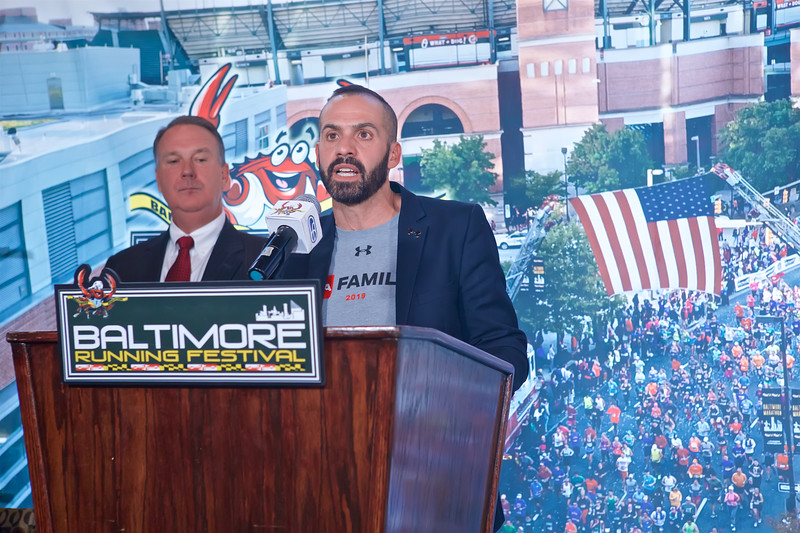 October 17, 0219 - Baltimore Running Festival Press Conference & Media Luncheon